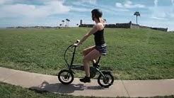 Vilano Quark Lightweight Folding E-Bike