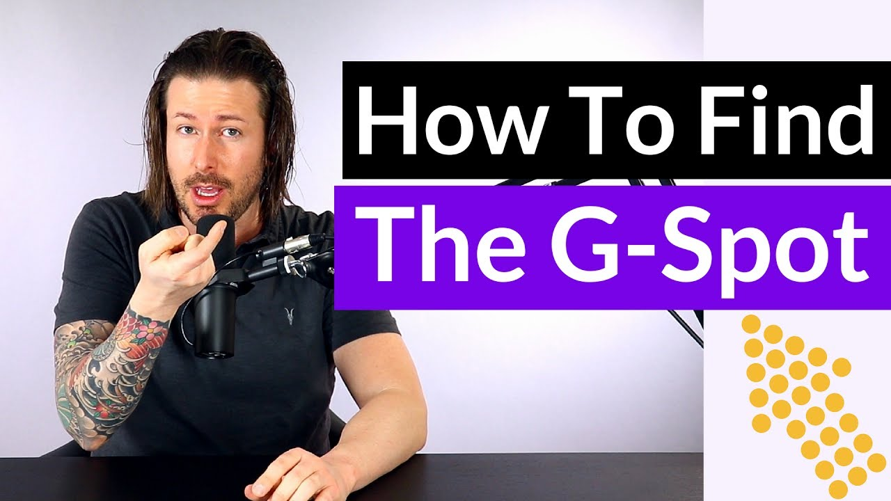 Finding the g spot video
