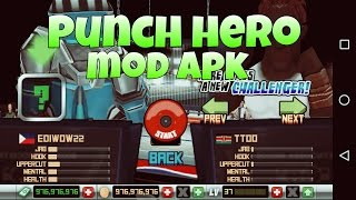Punch Hero V1.3.8 [Unlimited Money] Mod Apk