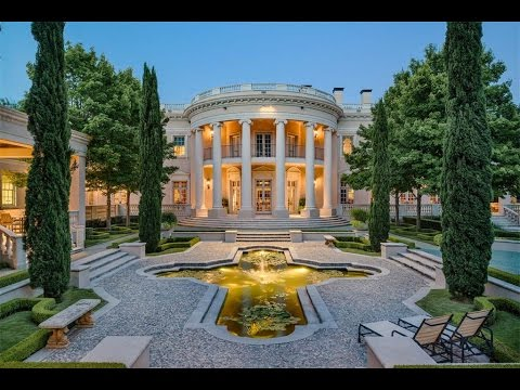 Gated Preston Hollow Estate in Dallas, Texas
