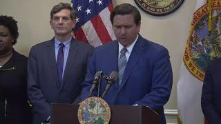 WEB EXTRA: Governor Ron DeSantis Holds News Conference On Coronavirus