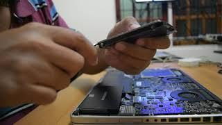 Cara memasang SSD Samsung 850 EVO di macbookpro 17 inch early 2009 20170718