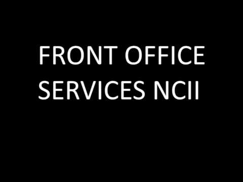 INCAT- Front Office Services NCII