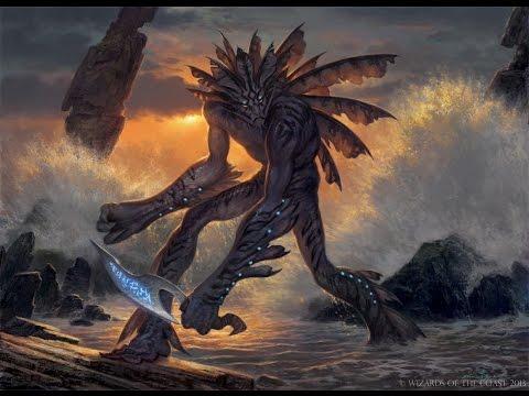 MTG: Commander-EDH: Narset, the Enlightened vs. Tassigur, the Golden Fang