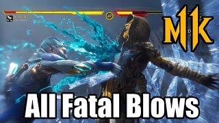 MORTAL KOMBAT 11 | All Fatal Blows (MK11 X-Ray Moves)