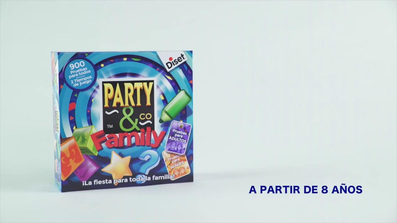 Tutorial De Party Co Family Youtube