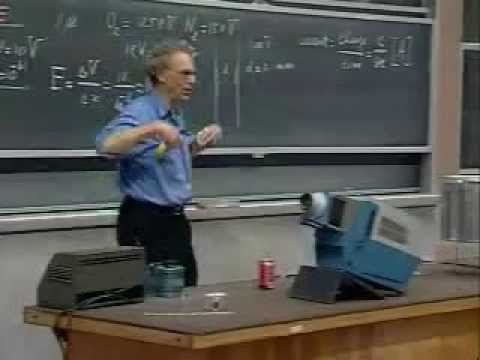Lec 06: High-Voltage Breakdown and Lightning | 8.02 Electricity and Magnetism (Walter Lewin)
