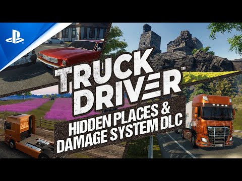 Truck Driver - Hidden Places & Damage System DLC Trailer | PS4