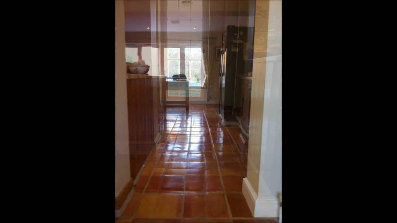 Terracotta clay tile floor cleaning and sealing surreywmv youtube dailygadgetfo Image collections