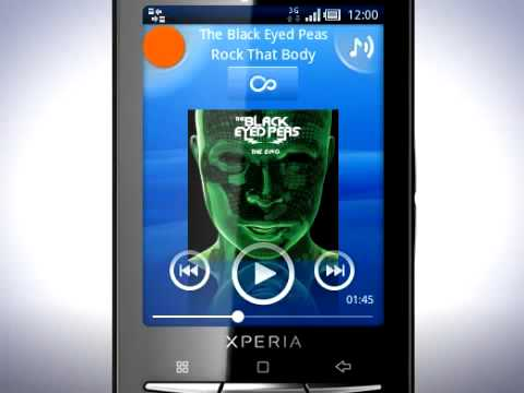Play music on the Xperia X10 mini