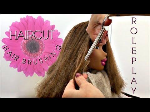 ASMR Doll Hair Salon: Haircut / Hair Brushing, no talking