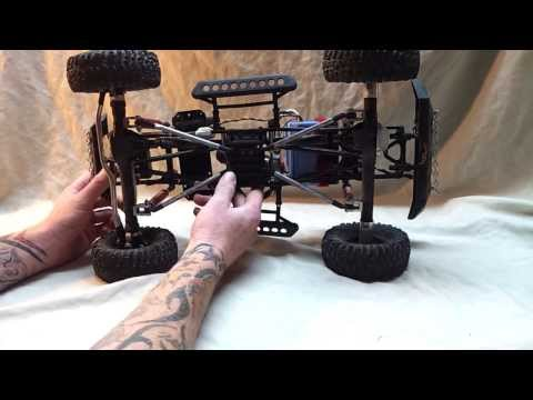 SCX10 With Wraith Axles