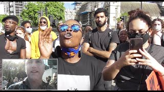 ❗ Defending CHURCHILL, BLM MOB RAGE - London today, UNCENSORED!!!