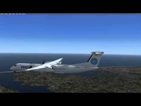 Majestic DHC-8 Q400 Pro DIY Waypoints KLGA EXPY RWY31 Approach