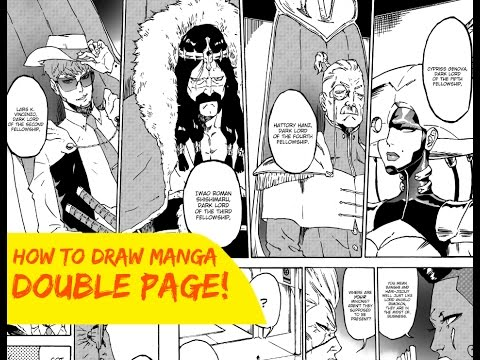 Manga Double Page Spread Tutorial