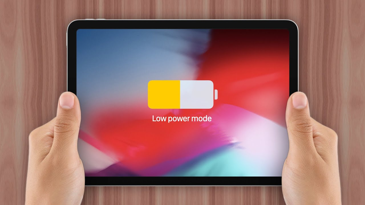 Why The iPad Doesn't Have Low Power Mode