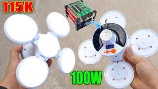Độ Pin Khủng Cho Đèn Tích Điện Năng Lượng Mặt Trời Đang HOT nè - Không Cần sạc pin luôn