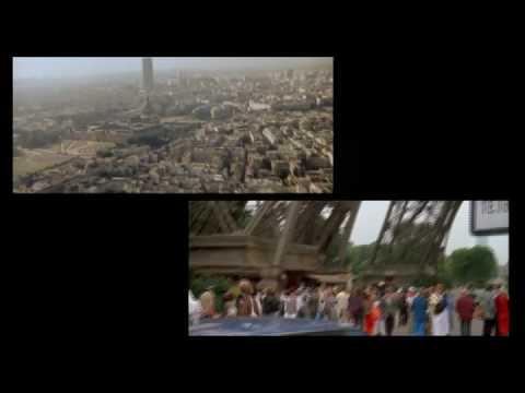 A VIEW TO A KILL Bond Eifel Tower Multi Angle