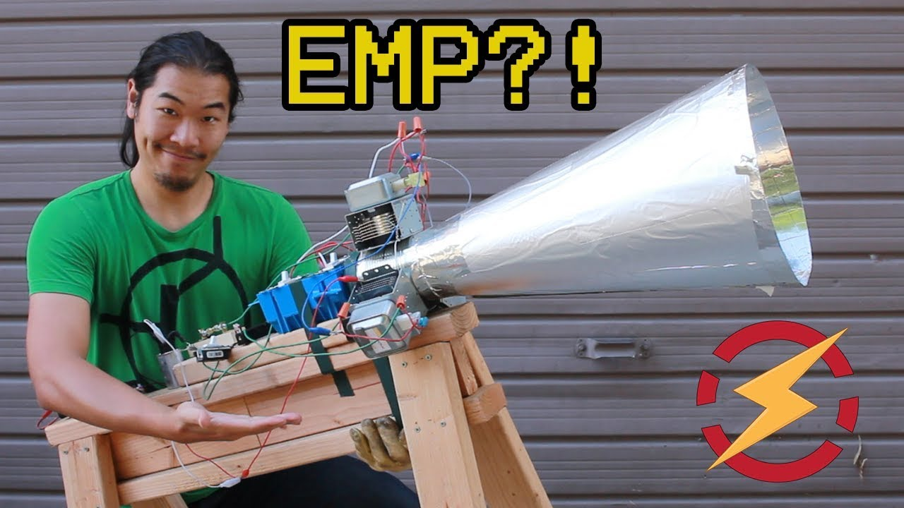 A Microwave Gun Made From Taser and Soup Can??? (Testing Kreosan's  Magnetron Cannon)