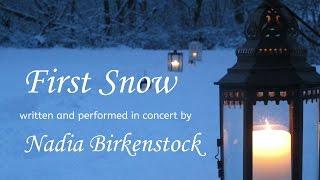 "Celtic Harp Solo ""First Snow"" Nadia Birkenstock (Keltische Harfe)"