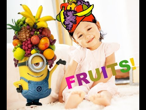 Learn FRUITS and COLORS with Tori