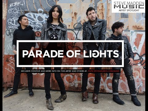 PARADE OF LIGHTS //// BTS & Interview With Steve Madden Music