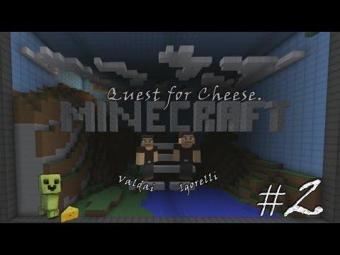Смотреть прохождение игры Minecraft Quest for Cheese. Серия 2 - Роковое невезение.