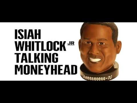 Isiah Whitlock, Jr. Talking Money Head