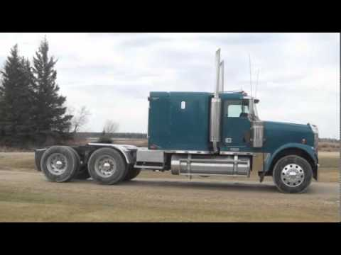 Freightliner Trucks For Sale >> 2000 FREIGHTLINER FLD12064T-CLASSIC For Sale - YouTube