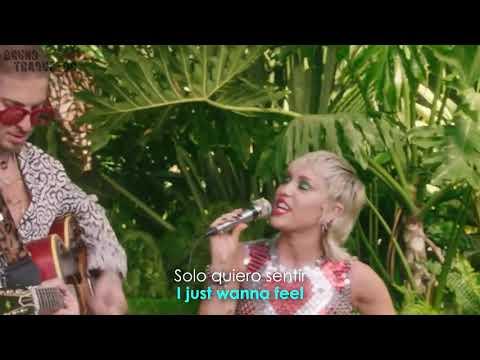 Download Miley Cyrus - Plastic Hearts (Backyard Sessions) (Lyrics + Español) Video Official