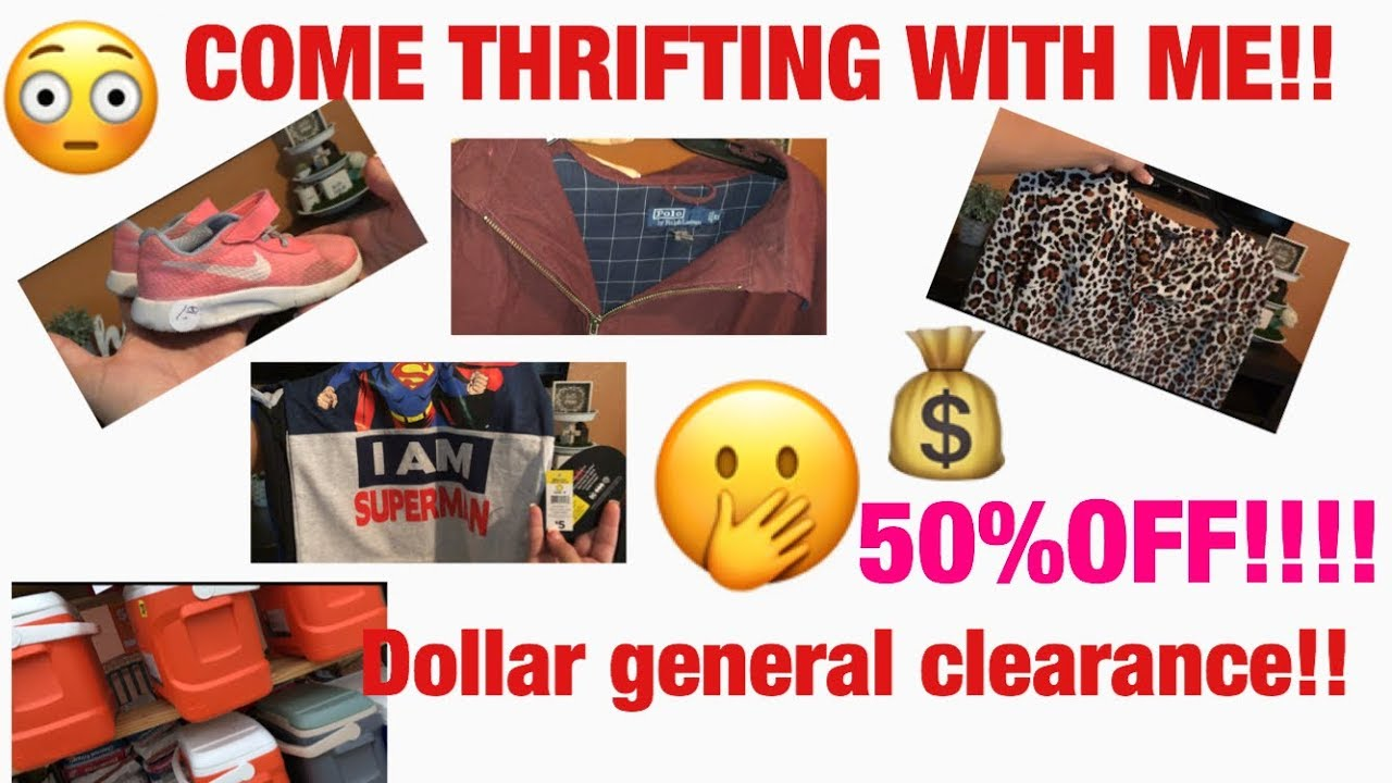 Thrift Store FINDS And Dollar General Clearance Cheap Clothes More 7 26 18