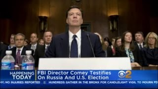 Comey To Testify At Russia Hearing