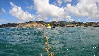 Perfect Solo Open Water Ocean Swim