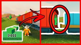 TIP TO ROB THE TRAIN WITHOUT ENTERING JAILBREAK - ROBLOX