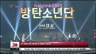 Chuyển động 24h - BTS thắng lớn tại lễ trao giải Nghệ sĩ Châu Á 2018