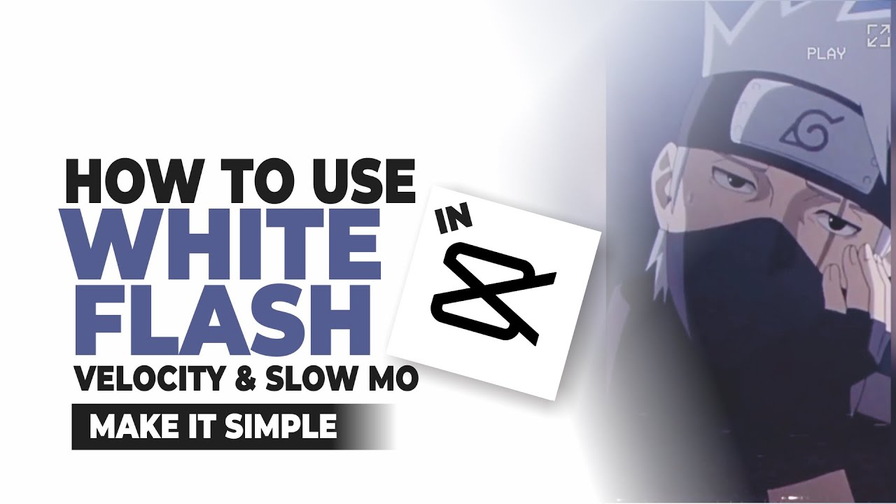 Download How to Use White Flash in CapCut to Velocity and Slow Mo Videos
