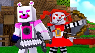 Circus Baby Plays Bed Wars! Minecraft FNAF Roleplay