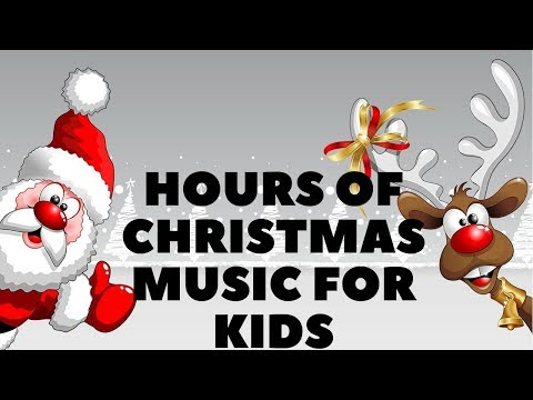 CHRISTMAS MUSIC FOR KIDS 24/7  🎄  Santa Tracker 2018