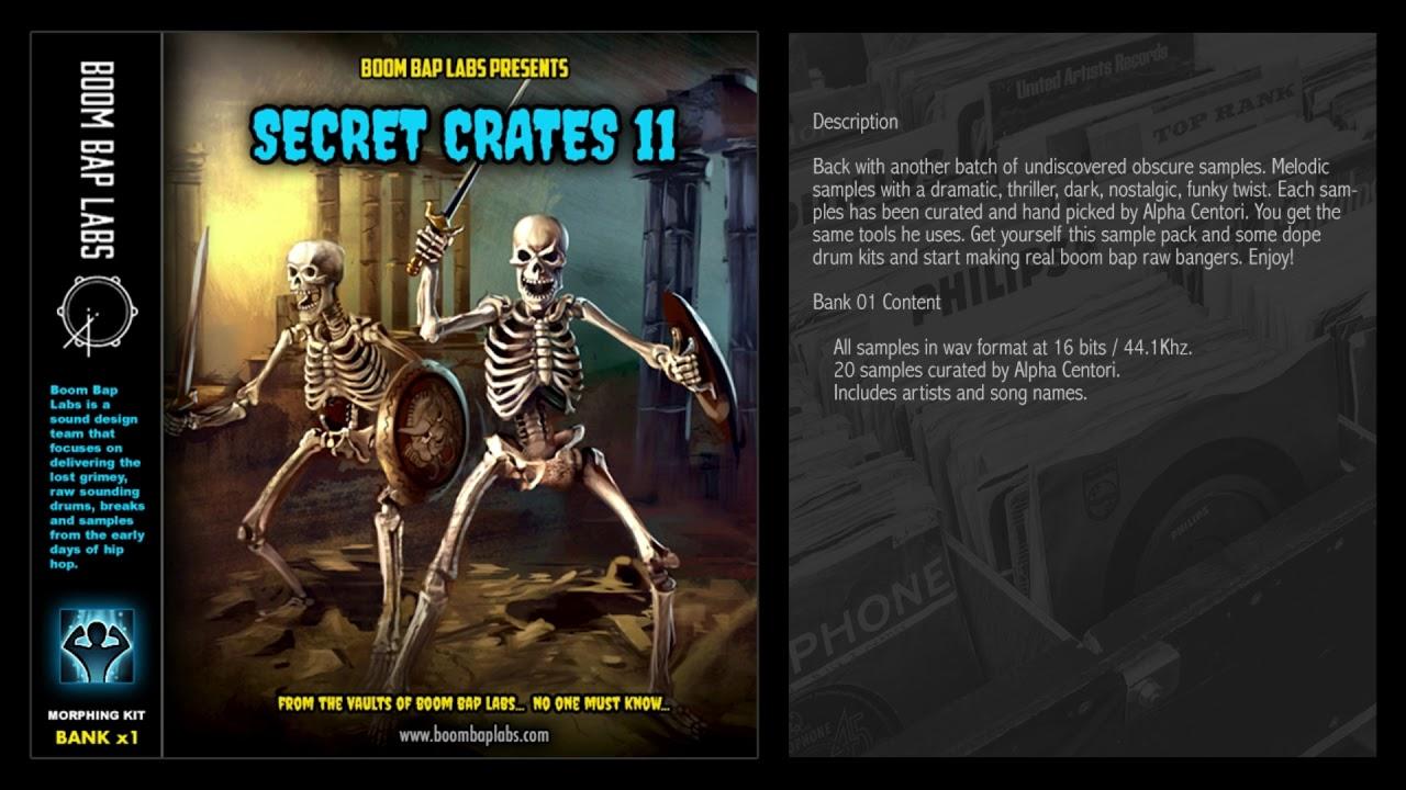 Boom Bap Labs - Secret Crates 11 - Sample Pack