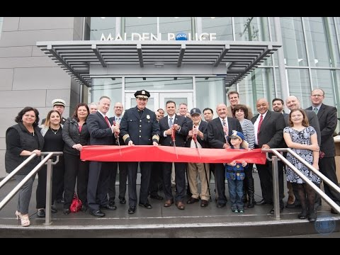 Malden Police Headquarters Ribbon Cutting Ceremony