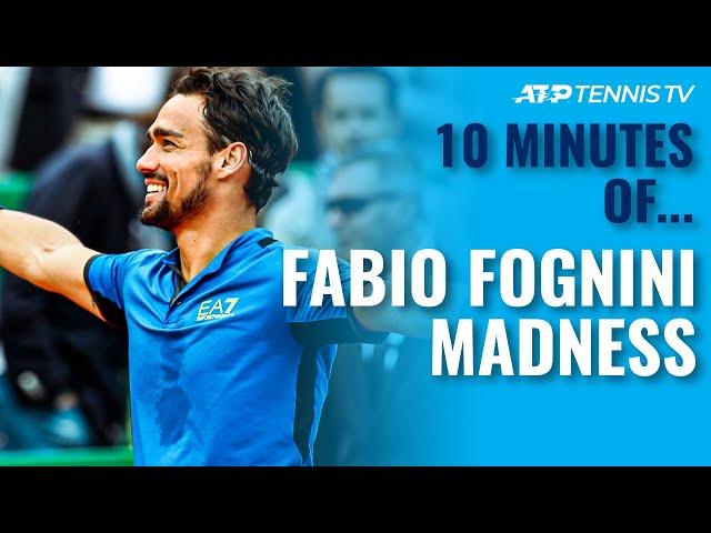 10 Minutes of Fabio Fognini MADNESS!