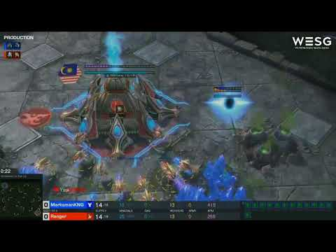 World Electronic Sports Games(WESG) Starcraft2 Malaysia Qualifier Semi Finals
