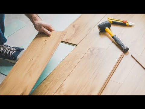 How To Lay A Floating Floor Youtube