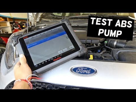 How To Test Abs Pump Without Removing It Youtube