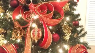 """Heaven on Earth"" Christmas Tree Reveal 2016!!! + Adding a touch of elegance!!! (Pt.4)"