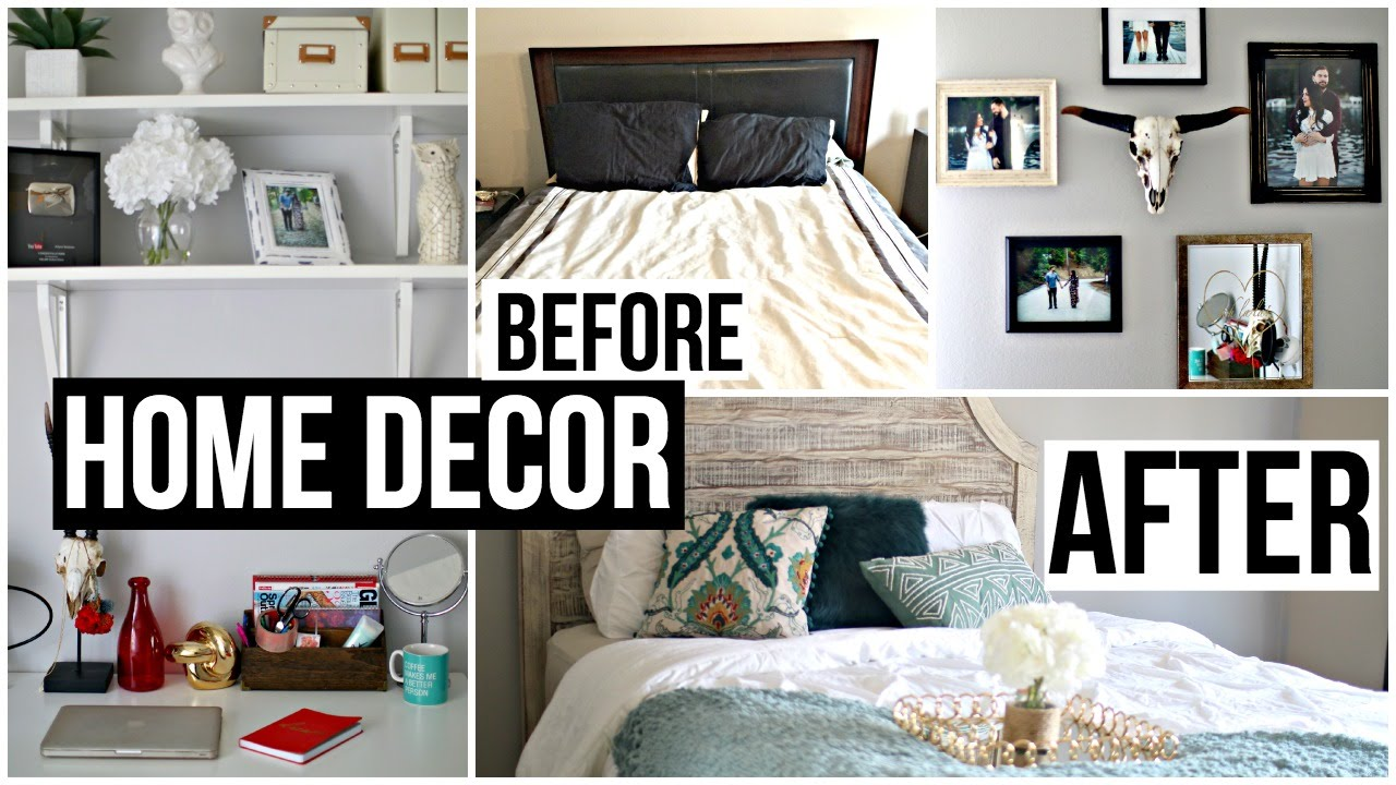 Home decor moving haul room makeover tumblr vlog youtube How to do a home makeover