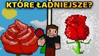 KTÓRE KWIATY ŁADNIEJSZE? - Minecraft | ZIO vs NERESSIA