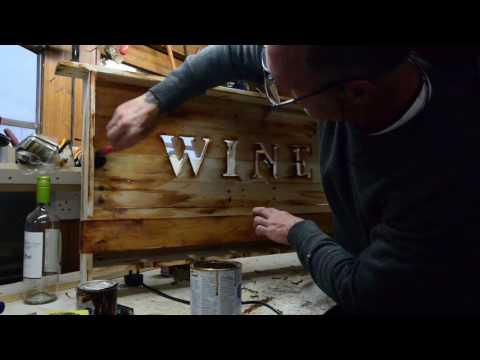 1 min vid. Making wood look old.