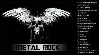 AC/DC ,Iron Maiden , Metallica ,Helloween ,Black Sabbath - Top 100 Hard Rock