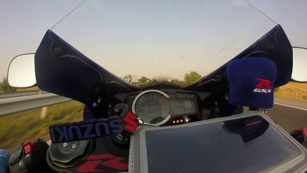 SUZUKI GSXR 750 2016 top speed